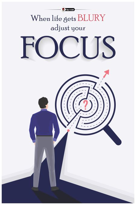 Focus On Your Goals Wall Poster
