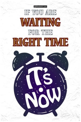 Right Time Wall Poster