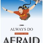 Afraid To Do Wall Poster