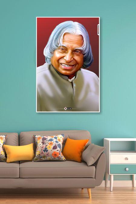 Dr. Abdul Kalam Poster mockup