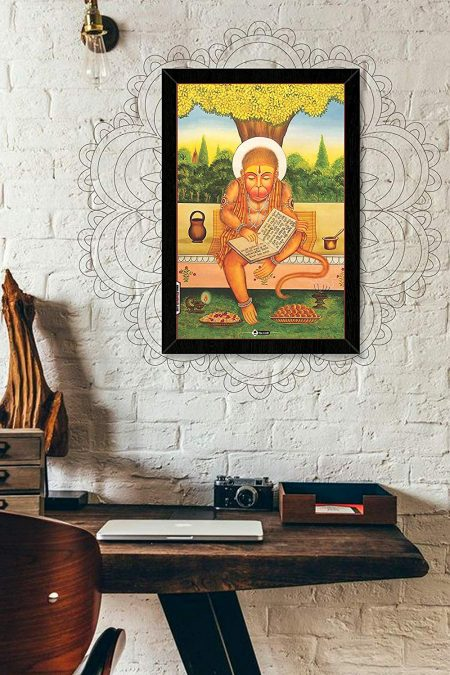 Bajarangbali (Hanuman Ji) Wall Frame mockup