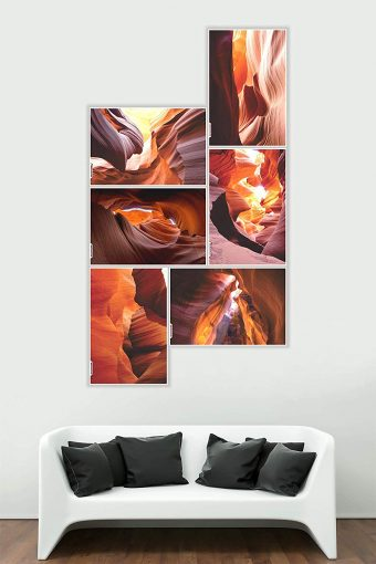 Beautiful Architectural Design Wall Poster mockup