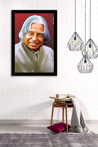 Dr Abdul Kalam Wall Frame mockup