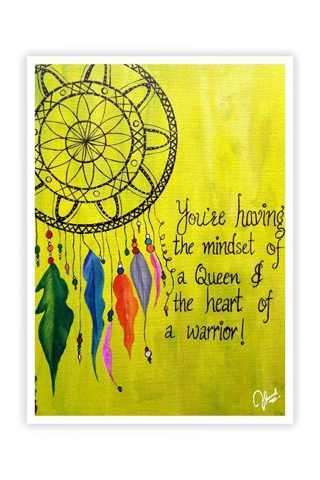 Dream Catcher Motivational Wall Decor Poster
