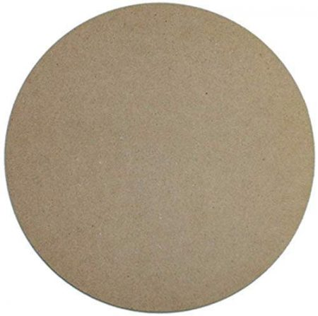 MDF Wood Round Shape Art Boards [12 x 12 Inch] 1