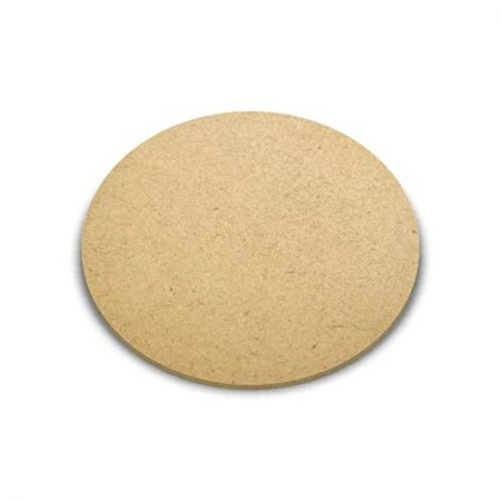 MDF Wood Round Shape Art Boards [12 x 12 Inch] 2