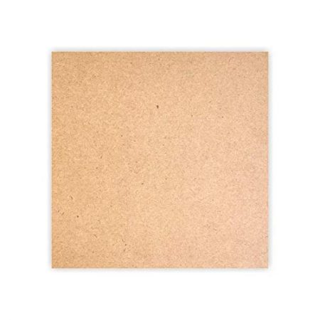MDF Wood Square Shape Art Board [12 x 12 Inch]