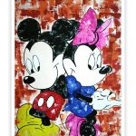 Micky Mouse Cartoon Wall Decor Poster
