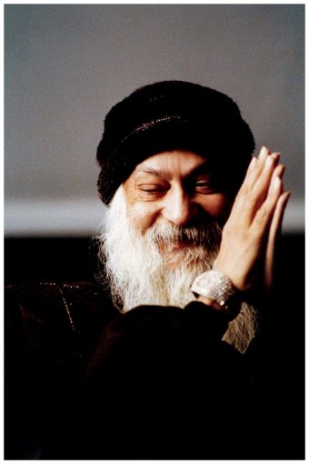 Osho Author of Courage Wall Poster