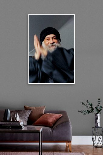 Osho World Wall Poster mockup
