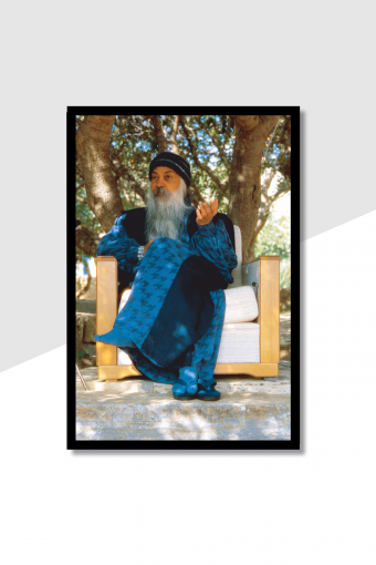 Osho Blue Wall Frame